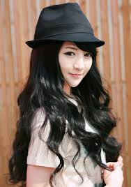 waivy korean hair style laneige wavy long hair wig korean fashion