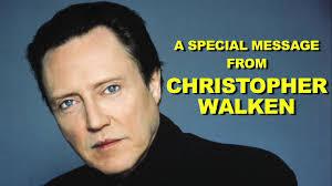 Christopher Walken Meme - a special message from christopher walken youtube