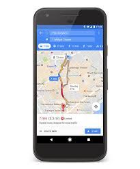 Maps Goo Put It In Park With New Features In Google Maps