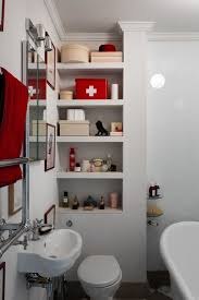 built in shelves small bathroom storage ideas houseandgarden co uk