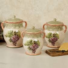 grape canister sets kitchen sanctuary wine grapes kitchen canister set