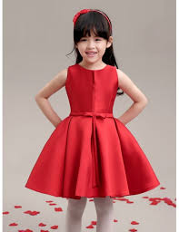 flower girl dresses hot simple satin flower girl dress gemgrace