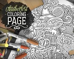 beer coloring book etsy