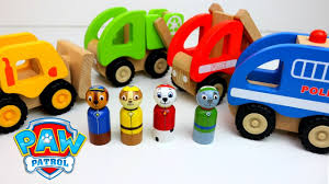 paw patrol best baby toy learning colors video wooden toys cars