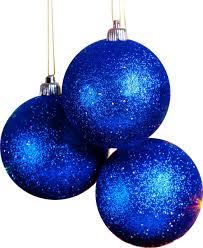 3 blue ornaments psd official psds