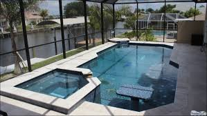 Waterfall Glass Tile Superior Pools Of Southwest Florida New Construction Swimming Pools