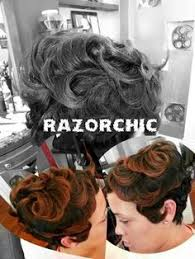 razor chic hairstyles of chicago razor chic of atl kiss my cut pinterest razor chic short