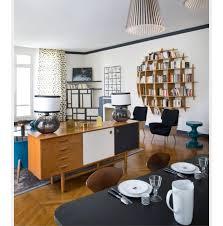 meuble et canape separation salon et cuisine avec meuble derriere canape deco