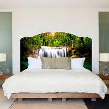Headboard Wall Art   waterfall bed headboard wall mural waterfall headboard art