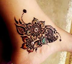 henna mehndi designs idea for ankle tattoos ideas