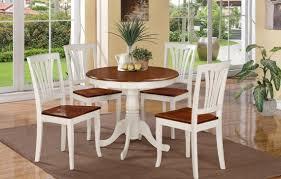 White Round Kitchen Table Set Round Kitchen Table Sets For 4 Mada Privat