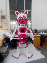 foxy costume custom fnaf location funtime by cartoonmascotcostume on zibbet