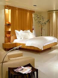 Bedroom Enchanting Retro Wood Headboards Ideas With Dark Blue - Bedroom headboards designs