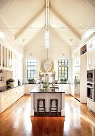 Lighting For Cathedral Ceilings by Track Lighting Kitchen Sloped Ceiling Captivating Kitchen Track