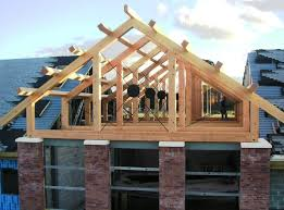 Prefabricated Roof Trusses Roof Timber U0026 Building Elements Straw Bale Insulation Timber