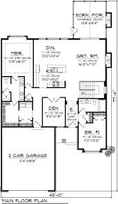 ranch house plans floor open plan style homes best images on