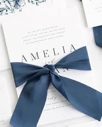 Wedding Programs With Ribbon Ribbon Wedding Invitations Shine Wedding Invitations Luxury