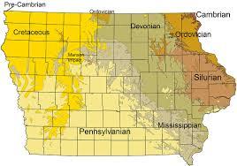 Map Of Cedar Falls Iowa Geology Of Iowa Wikipedia