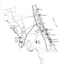 Central Florida County Map by History Prehistory Of Volusia County Florida