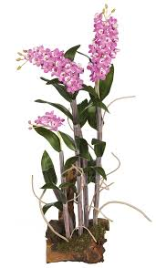 silk orchids silk orchids dendrobium orchid lavender 27 inch simplysilktm