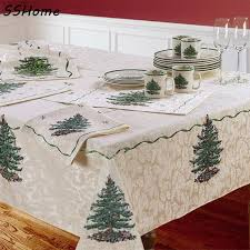 spode tree table cloth europe and united states style