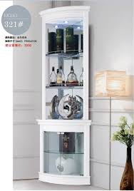 corner cabinet living room 321 living room furniture round corner white display showcase wine