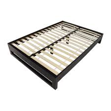 Wood Bed Frame With Drawers Bed Frames Full Size Platform Bed Frame With Storage Wood Bed