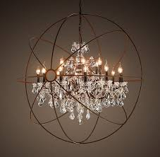 Large Foyer Lantern Chandelier Best 25 Orb Chandelier Ideas On Pinterest Modern Post Lights