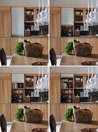 garage door for kitchen cabinet kitchen design idea store your kitchen appliances in an