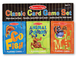 doug classic card set for includes go fish