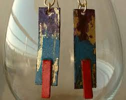 paper mache earrings mache earrings