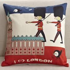 Cheap Sofa Pillows Couch Canvas Square Cartoon Cute Throw Pillows