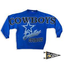 vintage blue cowboys sweatshirt large u2014 ozark vintage market