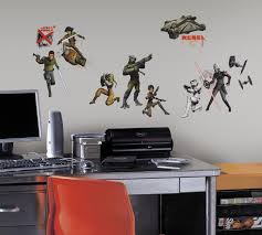 star wars rebels peel and stick wall decals wall sticker shop star wars rebels peel and stick wall decals