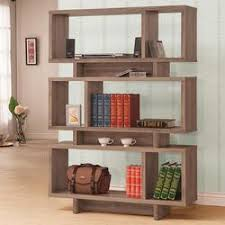 coaster bookcases 3 tier stacked bench bookshelf