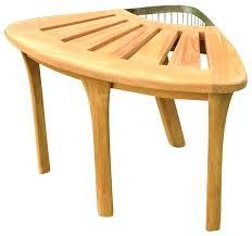 bathroom teak bench small size of teak bath stool bench l x d x h