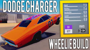 how to build a dodge charger forza horizon 3 1969 dodge charger r t wheelie build tune