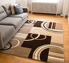 Brown And White Area Rug Marvellous Design 5x7 Rug Modern Area Rug Beige Brown White