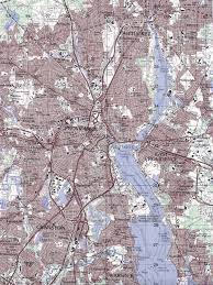 Blank Map Of Rhode Island by City Lights Of The United States 2012 Natural Hazards Rendering