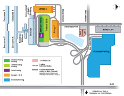 Washington Dc Airports Map by Parking Information Metropolitan Washington Airports Authority