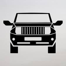 jeep silhouette купить виниловую наклейку jeep на авто стекло машины магазин