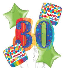 30th birthday balloon bouquets a year to celebrate 30th birthday balloon bouquet party city