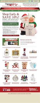 ornamentshop emails coupons content and ornaments