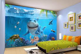 chambre enfant papier peint papier peint photo personnalisé paysage fond marin pour enfant le