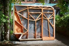 Dragonfly Garden Dragonfly Pavilion A Garden Shed Inspired By The Wings Of A