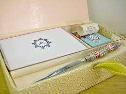 boxed stationery set damask love