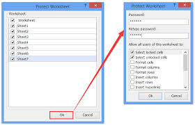 how to protect worksheet u0027s formatting only in excel