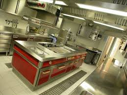 www stainlesssteeltile com likes this red commercial kitchen