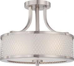 Semi Flush Mount Amazon Com Nuvo Lighting 60 4692 Three Light Semi Flush Mount
