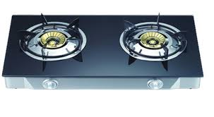 Gas Cooktop Sears Kitchen The Buy Pigeon Smart Plus Zeus Brass 2 Burner Gas Stove